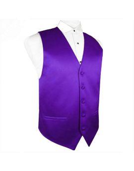 Cadbury's Amethyst Purple Waistcoat Vest