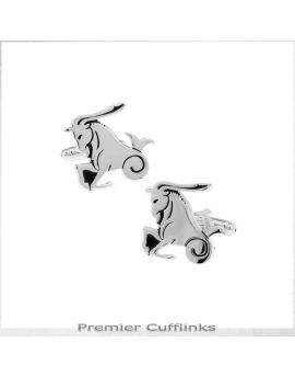 Capricorn Star Sign Cufflinks