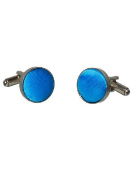 Bright Blue Cufflinks