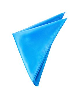 Mens Cobalt Blue Pocket Square