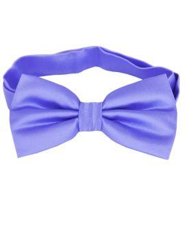 serenity blue bow tie