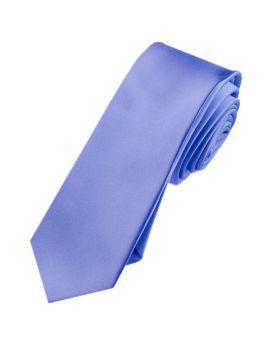Mens Cornflower Serenity Blue Skinny Tie