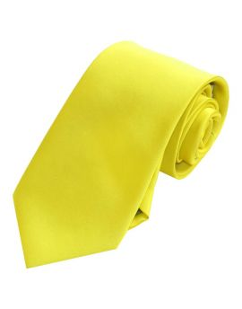 Yellow Men's Tie