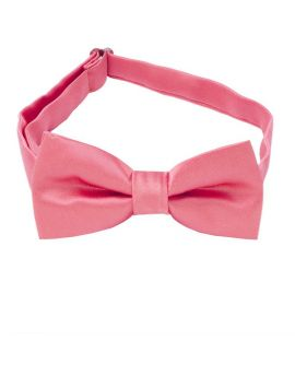 Dark Coral Melon Boys Bow Tie