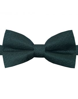 green textured bow tie