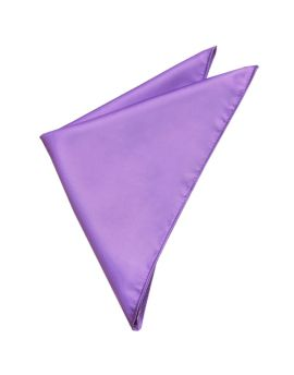 Mens Dark Lavender Pocket Square