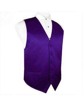 Dark Purple Waistcoat Vest