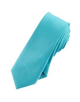 Mens Dark Turquoise Skinny Tie