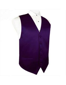 Grape Eggplant Aubergine Waistcoat Vest