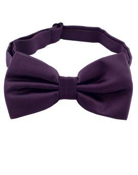 Eggplant Bow Tie