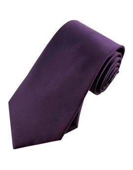 Eggplant Aubergine Tie