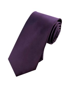 cadbury purple slim tie