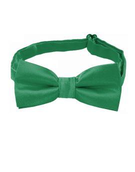 boy's emerald green bow tie