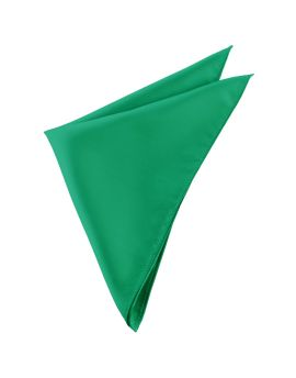 Mens Emerald Green Pocket Square