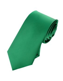 Mens Emerald Green 7cm Slim Tie