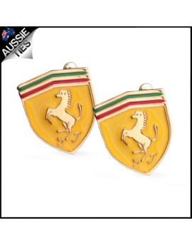 Mens Ferrari Cufflinks