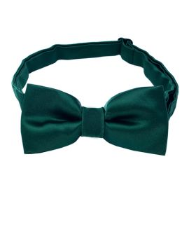 Forest Dark Green Boys Bow Tie