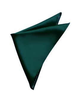 Mens Forest Dark Green Pocket Square