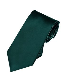 dark green slim tie