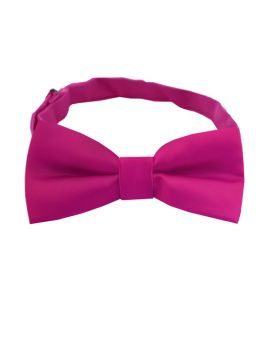 Fuschia Magenta Boys Bow Tie