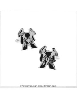 Gemini Star Sign Cufflinks
