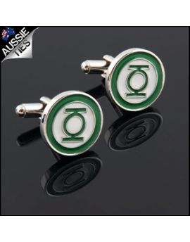 Mens Green Lantern Cufflinks