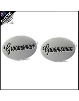 Mens Groomsman Cufflinks