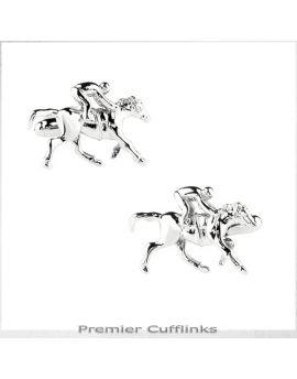 Horse and Jockey Cufflinks