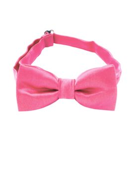 Hot Pink Boys Bow Tie