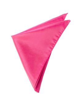 Mens Hot Pink Pocket Square