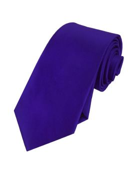 Mens Electric Blue Indigo Tie