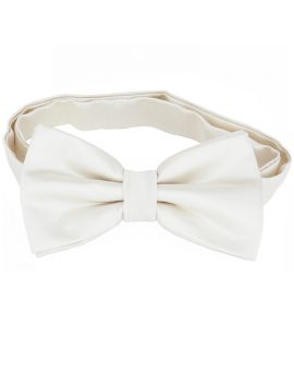 Ivory Champagne Bow Tie