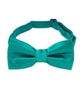 boy's jade green bow tie