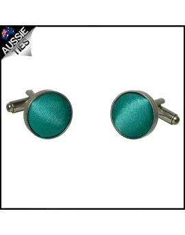 Mens Jade Green Cufflinks