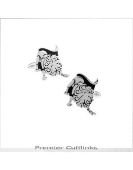 Leo Star Sign Cufflinks