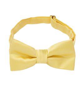 Light Gold Boys Bow Tie