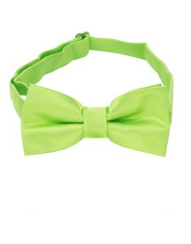 Lime Green Boys Bow Tie