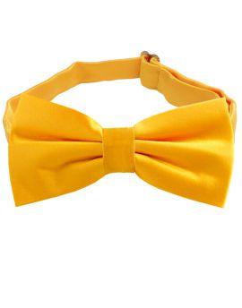 Marigold Bumblebee Yellow Bow Tie