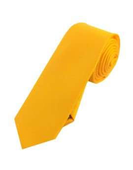 Mens Marigold Skinny Tie