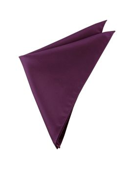 Mens Maroon Deep Burgundy Pocket Square
