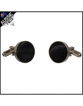 Mens Jet Black Cufflinks