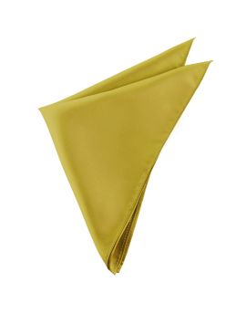 Metallic Gold Pocket Square
