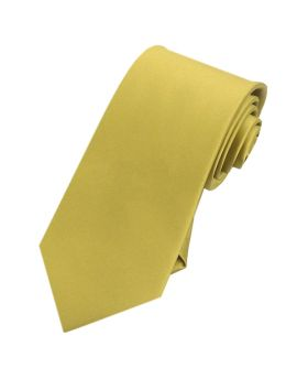 light gold slim tie