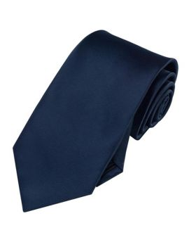 Mens Dark Midnight Blue Necktie