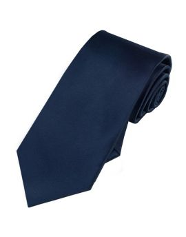 dark blue slim tie