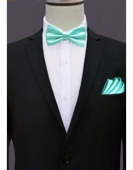 Mint Green Tiffany Bow Tie