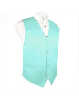 Light Mint Green Tiffany Waistcoat Vest