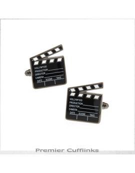 Movie Clapperboard Cufflinks