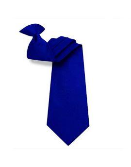 Mens Navy Blue Clip On Tie