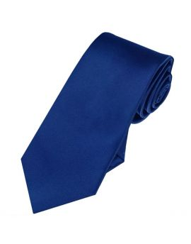 Mens Navy Blue 7cm Slim Tie